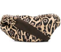 Schultertasche mit Leopardenmuster