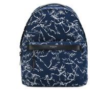 Grant palm print backpack - men