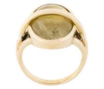 'Statum' Ring mit Quarzverzierungen