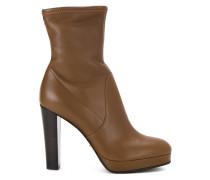 Stiefel mit hohem Blockabsatz