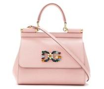 Mini 'Sicily' Handtasche mit Kristallen