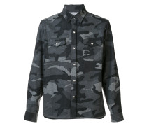 Hemd mit Camouflage-Muster