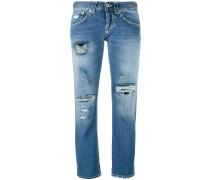 'Segolene' Distressed-Jeans
