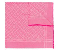 Jacquard-Schal mit ausgefransten Kanten