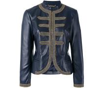 beaded trim jacket