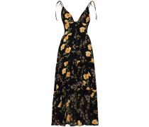 Jaden floral print midi dress