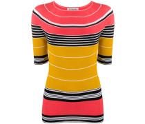 Schmales T-Shirt mit Streifen