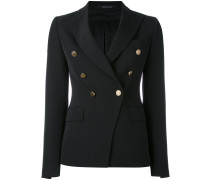 double breasted blazer - women