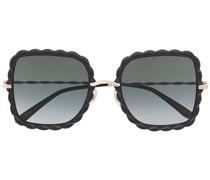 Sonnenbrille mit Wellenkanten