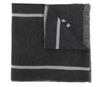 '17' Schal mit Fransen