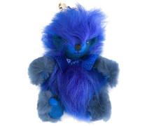 fuzzy teddy bear keyring
