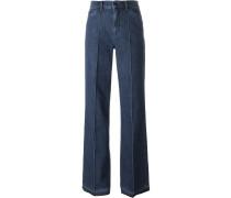 Jeans mit ungesäumtem Bein - women