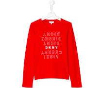 Teen logo print Tshirt