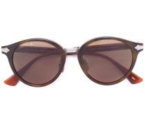 Runde Sonnenbrille - men - Acetat/Titan - 50