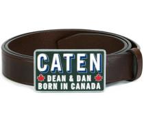 'Caten Bros' Gürtel mit Schnalle