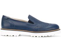 Loafer mit dicker Sohle - women - Leder/rubber