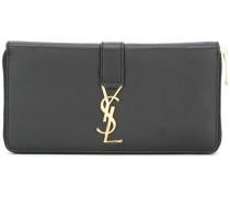 'YSL' zip around wallet
