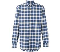 Hemd mit Karomuser - men - Baumwolle - XL