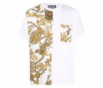 T-Shirt mit barockem Print