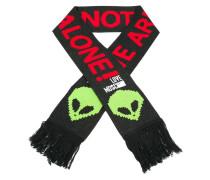 alien print scarf