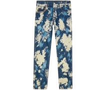 Ausgeblichene Jeans - men - Baumwolle/metal - 29