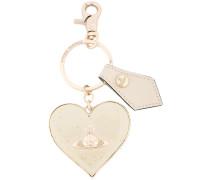 'Mirror Heart Gadget' Schlüsselanhänger - women