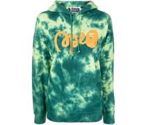 A BATHING APE® tie-dye print hoodie