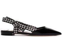 flat point toe sandals