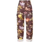Hose in floralem Design