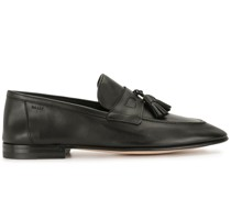 Polierte Loafer mit Quasten