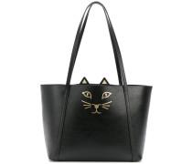 Feline shopper tote