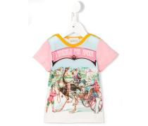 """T-Shirt mit """"L'Aveugle Par Amour""""-Print"""