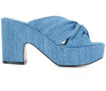 'Esthert' Jeans-Sandalen