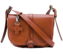 saddle crossbody bag - women - Leder