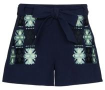 Bestickte 'Leah' Shorts