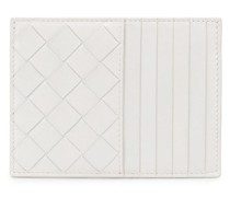 Kartenetui mit Intrecciato-Muster