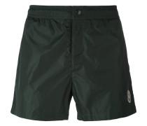 - tri-colour trim swim shorts - men