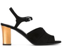 Sandalen mit Kontrastabsatz
