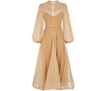 Organza-Kleid mit Vichy-Karo