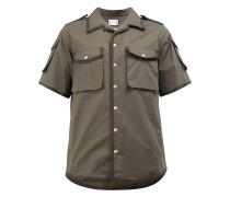 - Hemd mit aufgesetzten Taschen - men - Baumwolle
