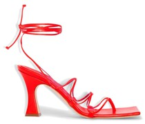 Rita 80mm lace-up sandals