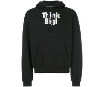 Think Big printed hoodie