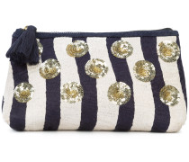 River Stripe cosmetic pouch