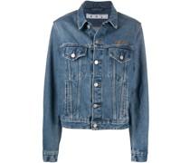 Jeansjacke mit Brusttaschen