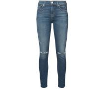Taillenhohe 'Barbara' Skinny-Jeans
