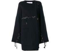 stitch and ring embellished jacket