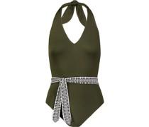 Badeanzug mit geknoteter Taille