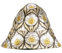 'W Iris' lurex bucket hat