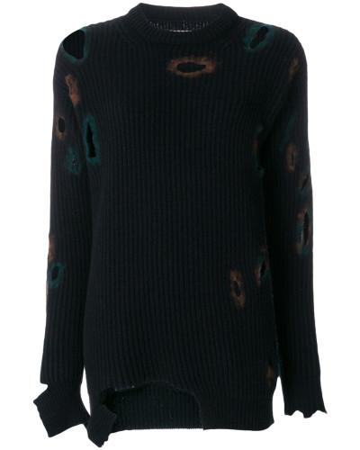 Pullover mit Distressed-Optik