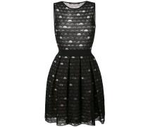 - Besticktes Kleid mit Kellerfalten - women